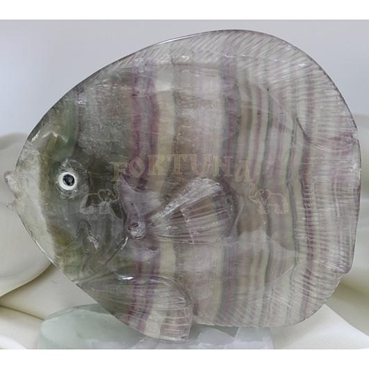 Статуетка с флуорит