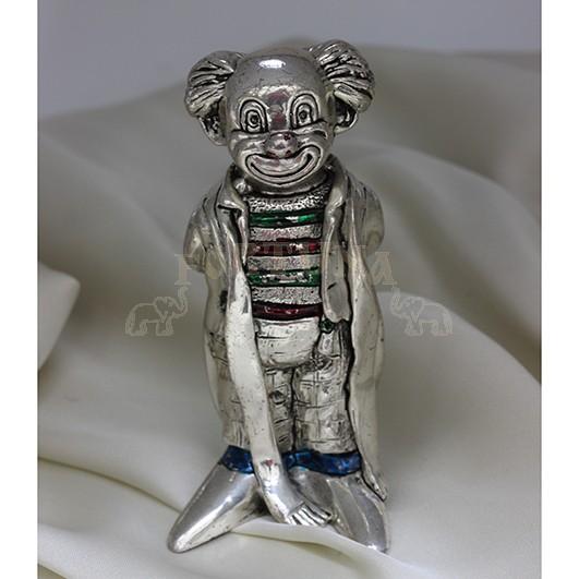 Сребърна статуетка палячо