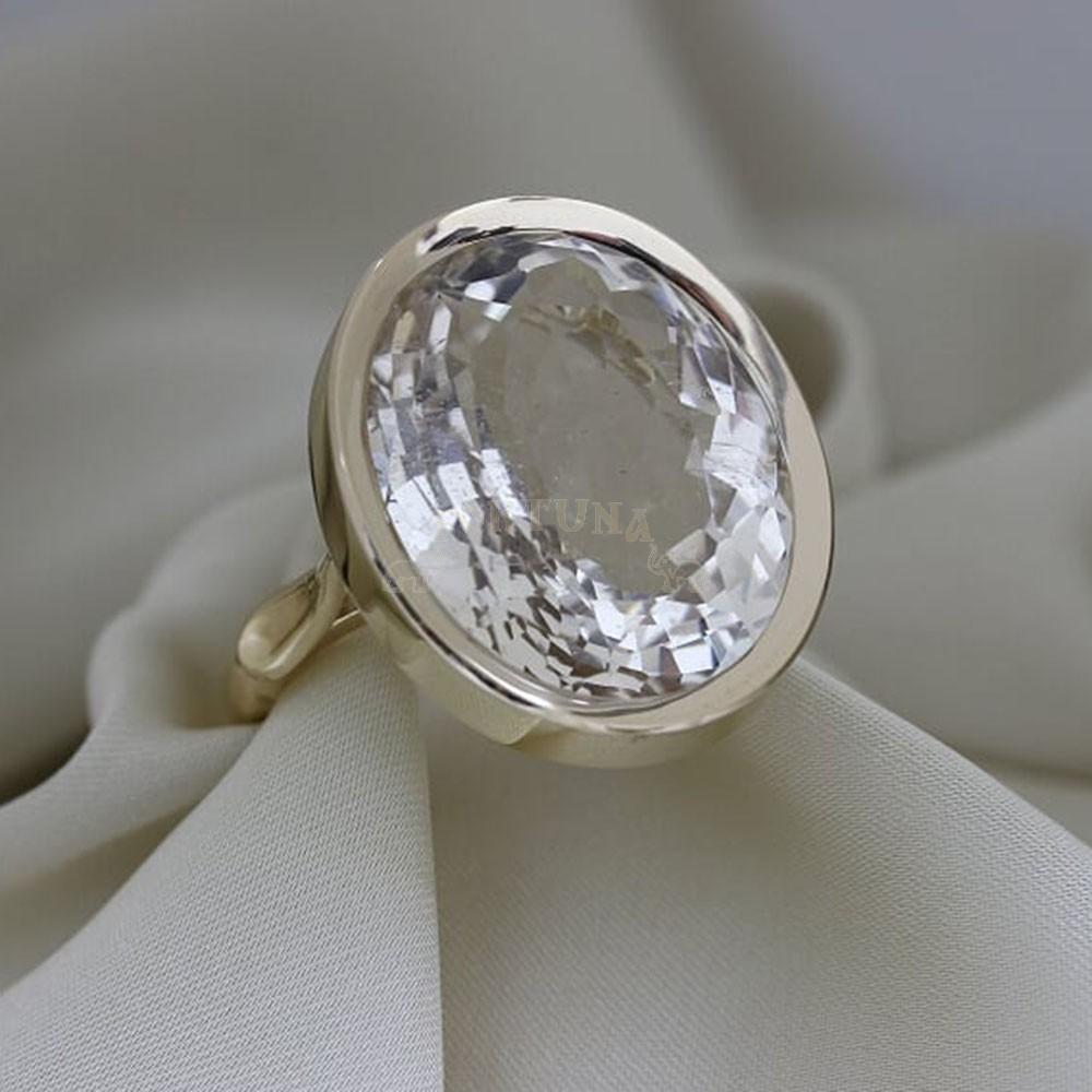Дамски пръстен с топаз
