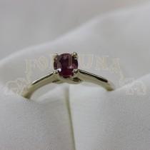 Дамски пръстен с рубин