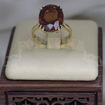 Златен пръстен с циркон