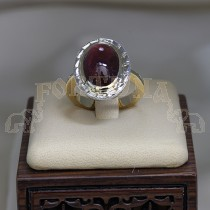 Златен пръстен с турмалин