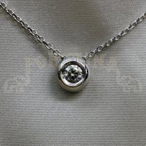 Златен медальон с брилянт