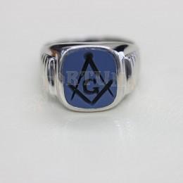 Мъжки пръстен, сребро сардоникс