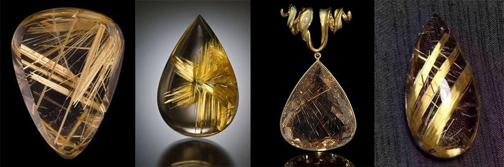 разлини изделия от скъпоценнен минерал